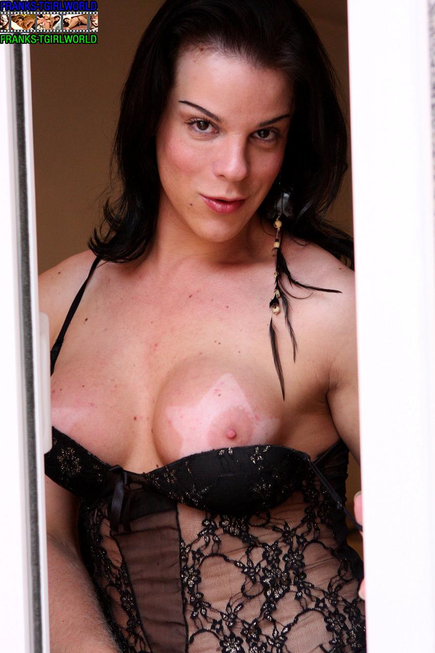 T-Girl Rochielle Schawmann Sensuous Panties