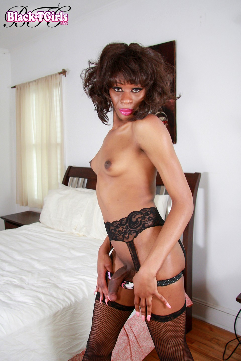 tgirl celine is feeling so starved today