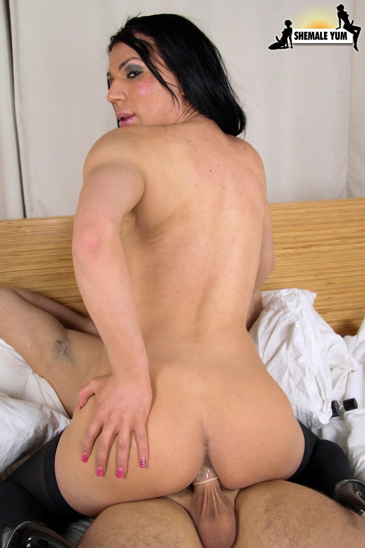 Tgirl Scarlett Sucks Dick And Nailing Dirty Way