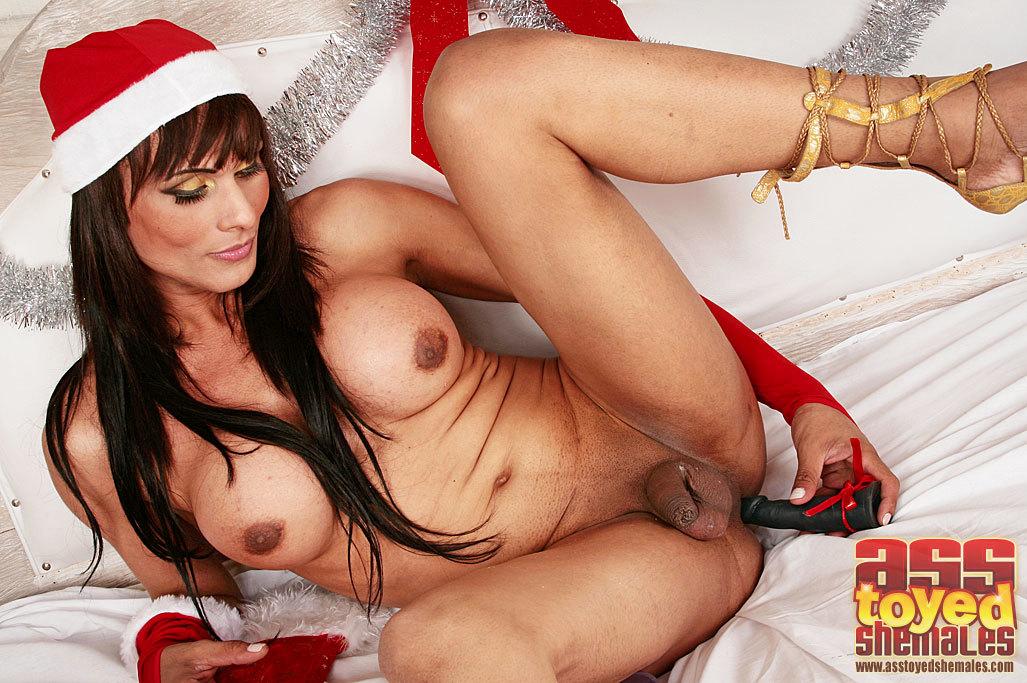 TGirl Shelsea Enjoying The Holidays
