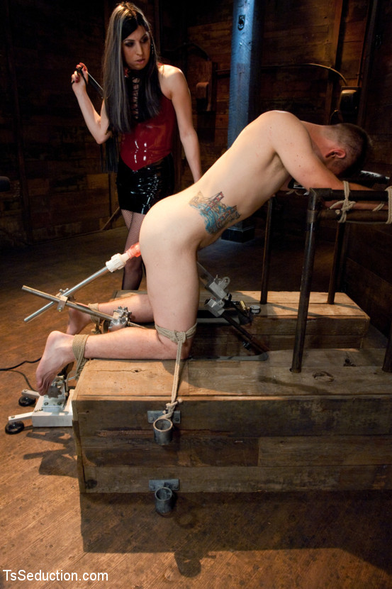 tied and ruined by naughty t girl