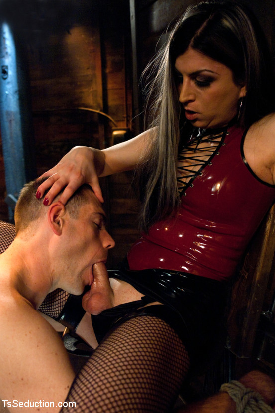 Tied And Ruined By Naughty T-Girl