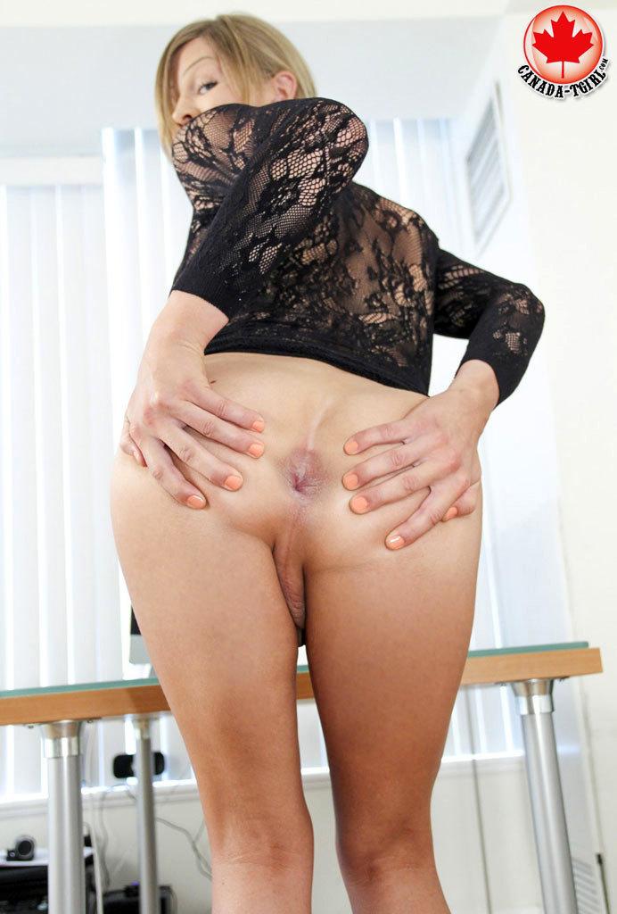 Tropicana Toying Her Bum