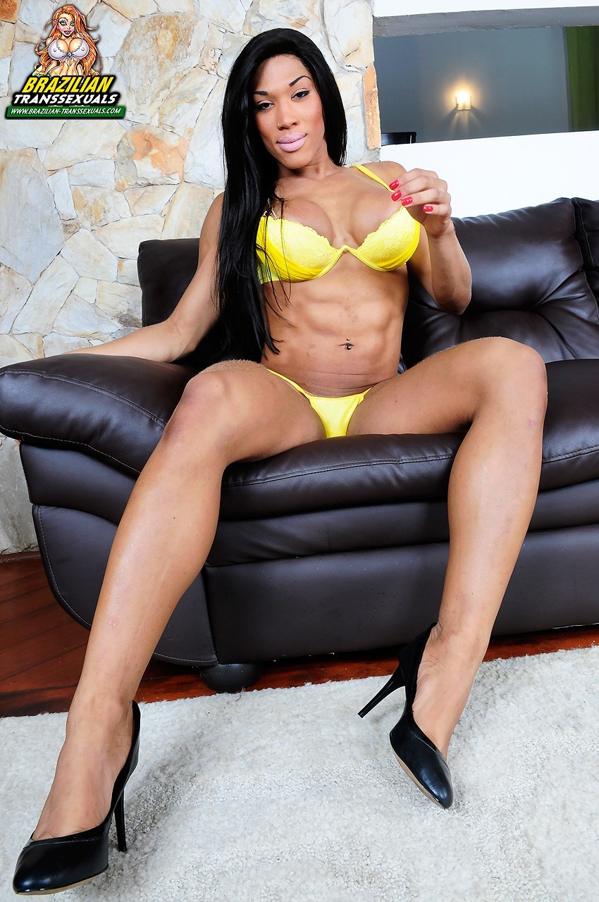 veronica bolina posing in yellow swimsuit