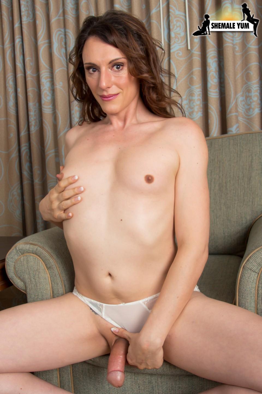 Vivian Grey Posing In White Corset And Panties