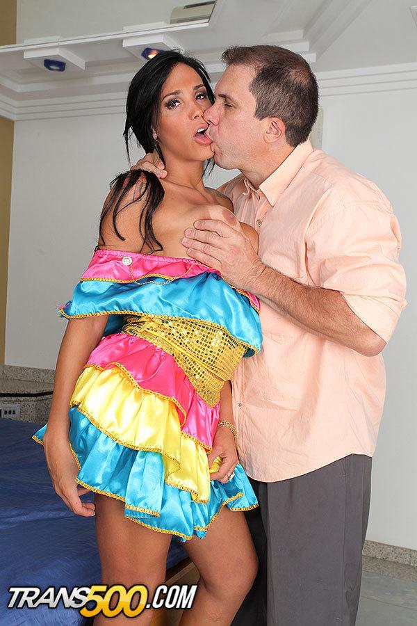 Watch Femboy Juliana Soares Take Some Penis